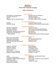BGSU Graduate College 2005-2006 Catalog by Bowling Green State University - Main Campus