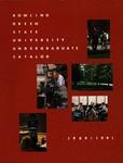 BGSU 1989-1990-1991 Undergraduate Catalog