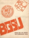 BGSU 1987-1988-1989 Undergraduate Catalog by Bowling Green State University - Main Campus