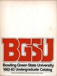 BGSU 1982-1983 Undergraduate Catalog