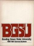 BGSU 1980-1981 Undergraduate Catalog