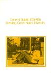 BGSU 1974-1975-1976 Undergraduate Catalog