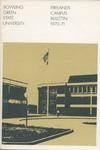 BGSU Firelands Campus Bulletin 1970-1971 by Bowling Green State University