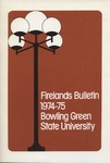 Firelands Bulletin 1974-75