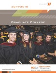 BGSU Graduate College 2014-2015 Catalog by Bowling Green State University