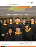 BGSU Graduate College 2015-2016 Catalog by Bowling Green State University