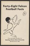 BGSU Football Media Guide: 1948