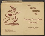 BGSU Football Media Guide: 1953