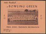BGSU Football Media Guide: 1956