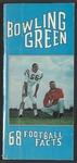 BGSU Football Media Guide: 1968