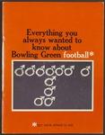 BGSU Football Media Guide: 1972