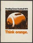 BGSU Football Media Guide: 1975