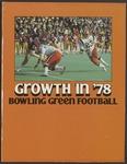 BGSU Football Media Guide: 1978