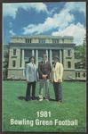 BGSU Football Media Guide: 1981