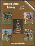 BGSU Football Media Guide: 1983