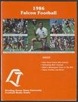 BGSU Football Media Guide: 1986