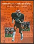 BGSU Football Media Guide 1988