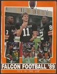 BGSU Football Media Guide: 1989