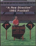 BGSU Football Media Guide 1991 by Bowling Green State University. Department of Athletics
