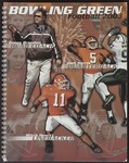 BGSU Football Media Guide 2003 by Bowling Green State University. Department of Athletics