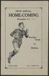 BGSU Football Program: November 07, 1925