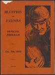 BGSU Football Program October 07, 1933
