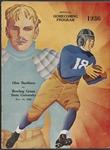 BGSU Football Program: November 14, 1936