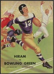 BGSU Football Program: September 25, 1937