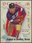 BGSU Football Program October 16, 1937