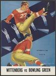 BGSU Football Program: October 15, 1938