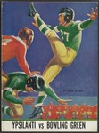 BGSU Football Program October 29, 1938