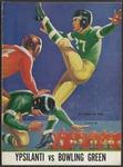 BGSU Football Program: October 29, 1938