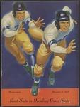 BGSU Football Program: November 05, 1938