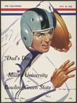 BGSU Football Program October 24, 1942