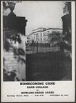 BGSU Football Program: October 30, 1943