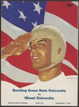 BGSU Football Program: September 09, 1944