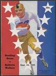BGSU Football Program: September 23, 1944
