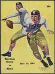 BGSU Football Program September 30, 1944