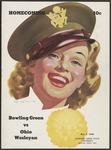 BGSU Football Program: October 07, 1944