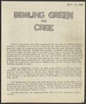 BGSU Football Program: October 13, 1945