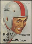 BGSU Football Program: October 23, 1948