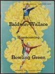 BGSU Football Program: October 21, 1950
