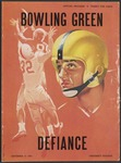 BGSU Football Program September 17, 1955