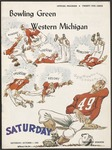 BGSU Football Program: October 01, 1955