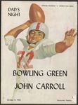 BGSU Football Program: October 08, 1955