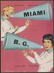BGSU Football Program: November 03, 1956