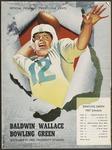 BGSU Football Program: September 21, 1957