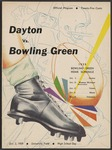 BGSU Football Program: October 03, 1959