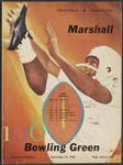 BGSU Football Program: September 24, 1960