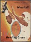BGSU Football Program September 24, 1960